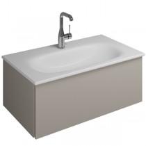 Burgbad Essence Waschtischunterschrank passend zu Keramik-Waschtisch Grohe Essence(WWIJ07T)PG3
