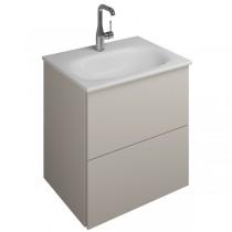 Burgbad Essence Waschtischunterschrank passend zu Keramik-Waschtisch Grohe Essence(WWIK05T)PG2