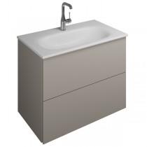 Burgbad Essence Waschtischunterschrank passend zu Keramik-Waschtisch Grohe Essence(WWIK07T)PG3
