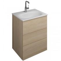 Burgbad Essence Waschtischunterschrank passend zu Keramik-Waschtisch Grohe Essence(WWIL05T)PG1