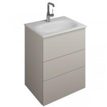 Burgbad Essence Waschtischunterschrank passend zu Keramik-Waschtisch Grohe Essence (WWIL05T)PG2