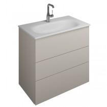Burgbad Essence Waschtischunterschrank passend zu Keramik-Waschtisch Grohe Essence(WWIL07T)PG2