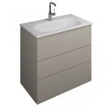 Burgbad Essence Waschtischunterschrank passend zu Keramik-Waschtisch Grohe Essence(WWIL07T)PG3