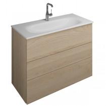 Burgbad Essence Waschtischunterschrank passend zu Keramik-Waschtisch Grohe Essence(WWIL09T)PG1