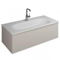 Burgbad Essence Waschtischunterschrank passend zu Keramik-Waschtisch Grohe Keramik(WWIJ09T)PG2
