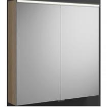 Burgbad Euro Spiegelschrank mit horizontaler LED-Beleuchtung 800 (SPGS080)