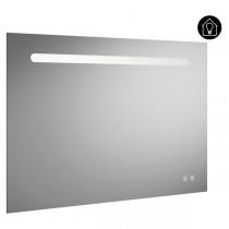 Burgbad Fiumo Spiegel/Leuchtspiegel 1000 mit horizontaler LED-Beleuchtung(SIIX100)