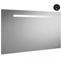 Burgbad Fiumo Spiegel/Leuchtspiegel 1200 mit horizontaler LED-Beleuchtung (SIIX120)