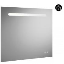 Burgbad Fiumo Spiegel/Leuchtspiegel 800 mit horizontaler LED-Beleuchtung(SIIX080)