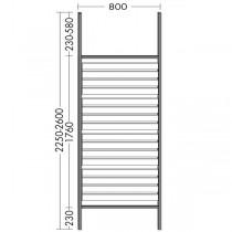 Burgbad Flex Raumteiler / Bodenstehend(SFPN080)