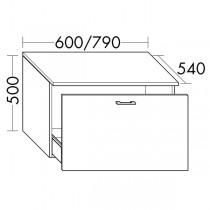 Burgbad Flex Unterschrank passend zu Anbauwandmodulen und Raumteiler SFPM / SFPX / SFPN080(SFPO079)PG1