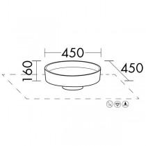Burgbad Lavo 2.0 Mineralguss-Waschtisch passend zu Waschtischunterschrank inkl. Abdeckplatte(MBA0030)