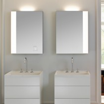Burgbad rl40 Room Light Spiegel/Leuchtspiegel mit LED-Flächenbeleuchtung und Lichtsteuerung inkl. Deckenbeleuchtung(SIJC050)(Typ-Nr. alt:SP216)