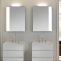 Burgbad rl40 Room Light Spiegel/Leuchtspiegel mit LED-Flächenbeleuchtung und Lichtsteuerung inkl. Deckenbeleuchtung(SIJC060)(Typ-Nr. alt:SP216)