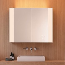 Burgbad rl40 Room Light Spiegelschrank mit LED-Flächenbeleuchtung und Lichtsteuerung inkl. Deckenbeleuchtung(SPOR100)(Typ-Nr. alt: SS268) PG2