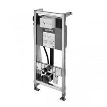 DU WC-Element f.Wand-WC,Hygienespülung, 500x1148mm,Trockenbaumont.,verz.Rahmen