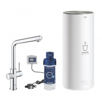 GROHE Armatur und Boiler Red Duo 30325 L-Size L-Auslauf chrom