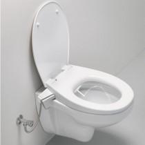 GROHE Dusch-WC-Aufsatz 2-in-1 Set 39651 Dusch-WC-Aufsatz Wand-WC alpinweiß