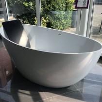 Hoesch Badewanne Namur 1900x900 freistehend, Material Solique, weiß matt