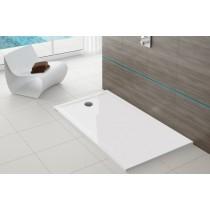 Hoesch Duschwanne Muna S 1200x750x30 ohne Antirutsch, Material Solique, weiß