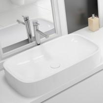 Hoesch Waschbecken LaSenia 600x350 Material Solique, weiß matt
