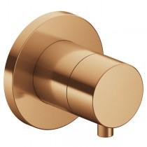 KE Absperrventil IXMO Comfort 59541, rund, Bronze gebürstet