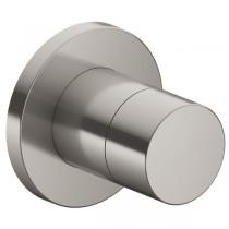KE Absperrventil IXMO Pure 59541, rund, Nickel gebürstet