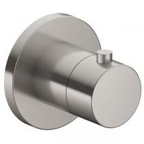 KE Thermostatarmatur IXMO 59553, rund, Edelstahl-finish