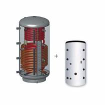 Austria Email Hygienespeicher KWS 500 mit Wellrohr, 1 Wärmetauscher und ECO SKIN Isolierung