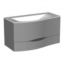Burgbad Sinea 2.0 Mineralguss-Waschtisch+Waschtischunterschrank 910 (SFFQ091) PG3