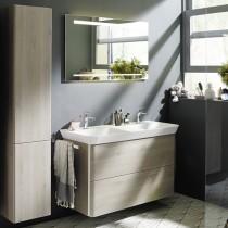 Burgbad Iveo Mineralguss-Waschtisch+Waschtischunterschrank (SFEO120)