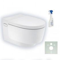 Geberit AquaClean Mera Comfort Dusch-WC Komplettanlage weiß mit Beschichtung