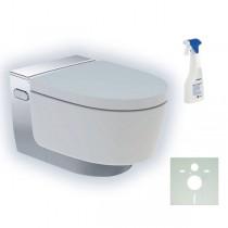 GE Geberit AquaClean Mera Classic WC-Komplettanlage UP WWC glanzverchromt