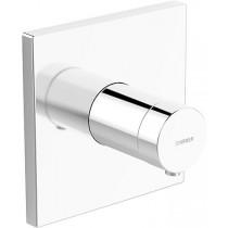HA Funktionseinheit m. Dekorset Therm.- Batterie Hansaliving 4056 chrom