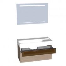 Burgbad Yumo Set 1020 mit Glaselement (SFLD102)