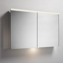Burgbad Yumo Spiegelschrank mit horizontaler LED- Aufsatzleuchte 1000 (SPIY100)