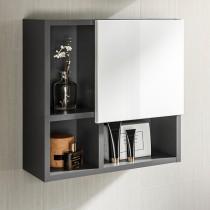 Pelipal Neutrale Einzelmöbel Wandregal mit Tür oben