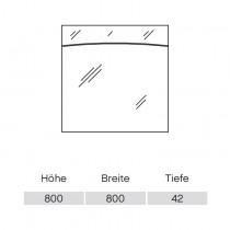 Pelipal Solitaire 9020 Flächenspiegel 800