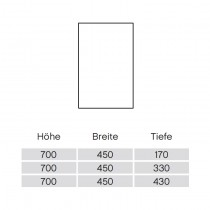 Pelipal Solitaire 9020 Wandschrank 45-01 PG2