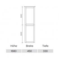 Pelipal Solitaire 9030 Hochschrank 450