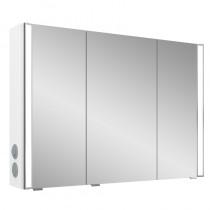 Pelipal S25 neutraler Spiegelschrank 1000 mit seitlichem Lichtprofil