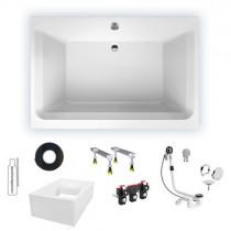 Gut gemocht Badewannen Komplett Set - auch mit Träger und Zubehör | Rocky Badshop RM71