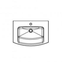 Pelipal Solitaire 7025 Mineralmarmor-Waschtisch 720