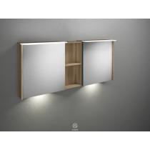 Burgbad Badu Spiegelschrank inkl. LED-Waschtischbeleuchtung, 5 W 1500 (SFUE150)