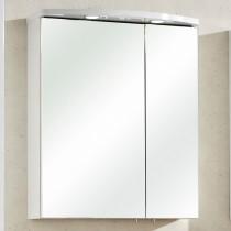 Spiegelschrank Paola II Weiß Hochglanz