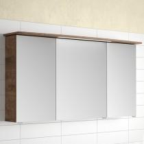 Pelipal Fokus 4010 Spiegelschrank 1200mm, Eiche Ribbeck quer Nachbildung