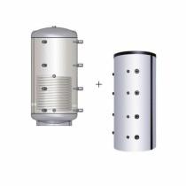 Austria Email Pufferspeicher PSR-1500 - Mit Isolierung Mit Rohrregister