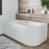 Riho Desire Eck-Badewanne 1800x840 mm, Corner, Links, weiß