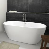 Riho Inspire Freistehende Badewanne 1600x750 mm, freistehend weiß