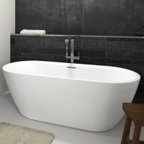 Riho Freistehende Badewanne INSPIRE 180x80 cm, freistehend weiß